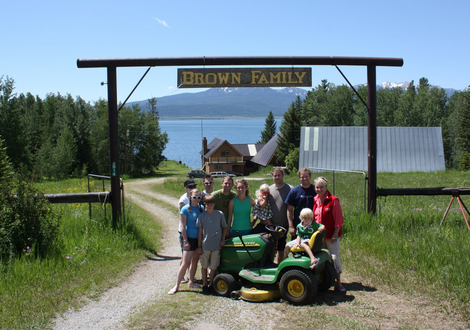 AT the Brown's Blog: Brown Family Reunion - West Yellowstone