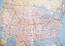 Bike Across the USA 2010