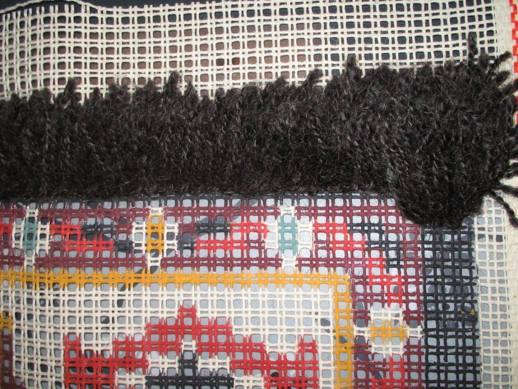 Bekend de wol zolder van su: kleed knopen WY06