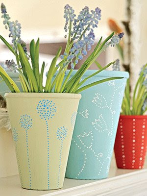 Be different act normal pretty pots - Pretty diy flower pot ideas ...