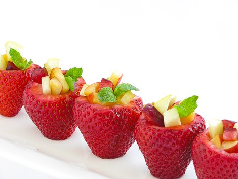 Strawberry Fruit Cups ~ Be Different...Act Normal
