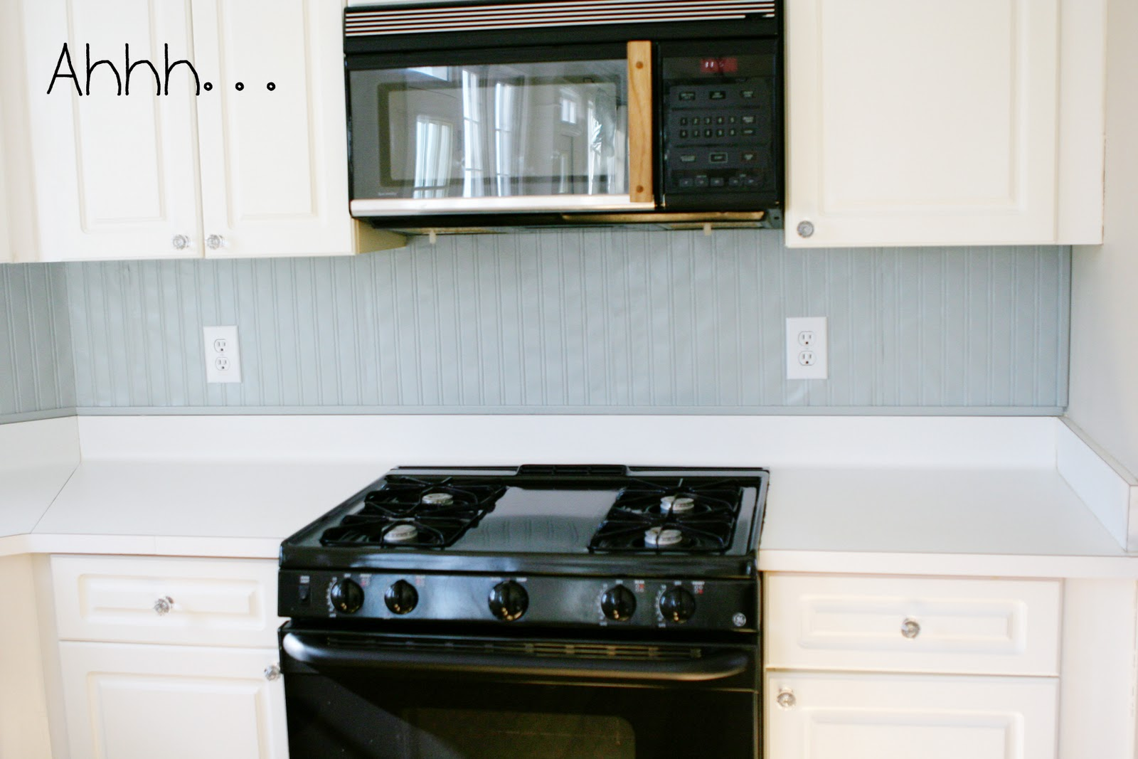 Be Different Act Normal Beadboard Backsplash