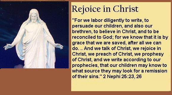 Rejoice in Christ