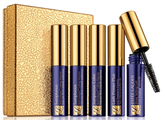 Estee Lauder Lash Primer Plus, Sumptuous Extreme Mascara, Sumptuous Mascara, Double Wear Mascara / Estee Lauder   ,  Sumptuous Extreme,  Sumptuous,  Double Wear