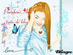 Lindo! Mais um selo de 1 ano do blog da Ana. Parabéns linda!