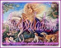 Esses selinhos vieram do blog da amiga Avassaladora. Demorei, mas peguei. Bjss