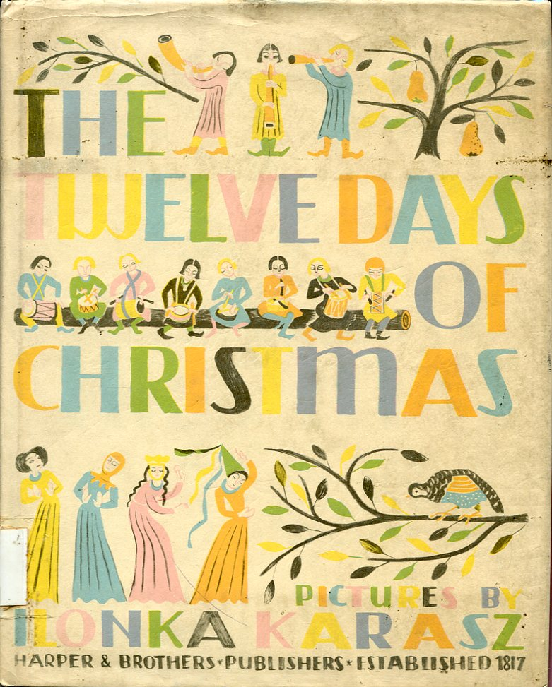 "One of the most beautiful books of the year is ""The Twelve Days of Christmas"