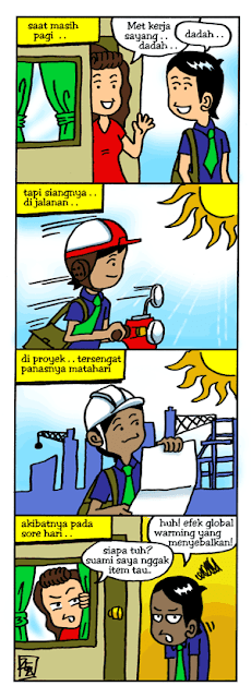 Global Warming lucu