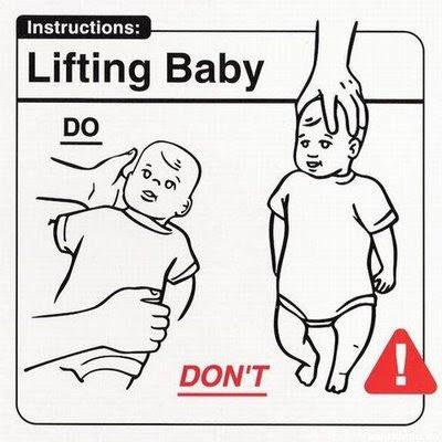 Tips merawat bayi, ketawa