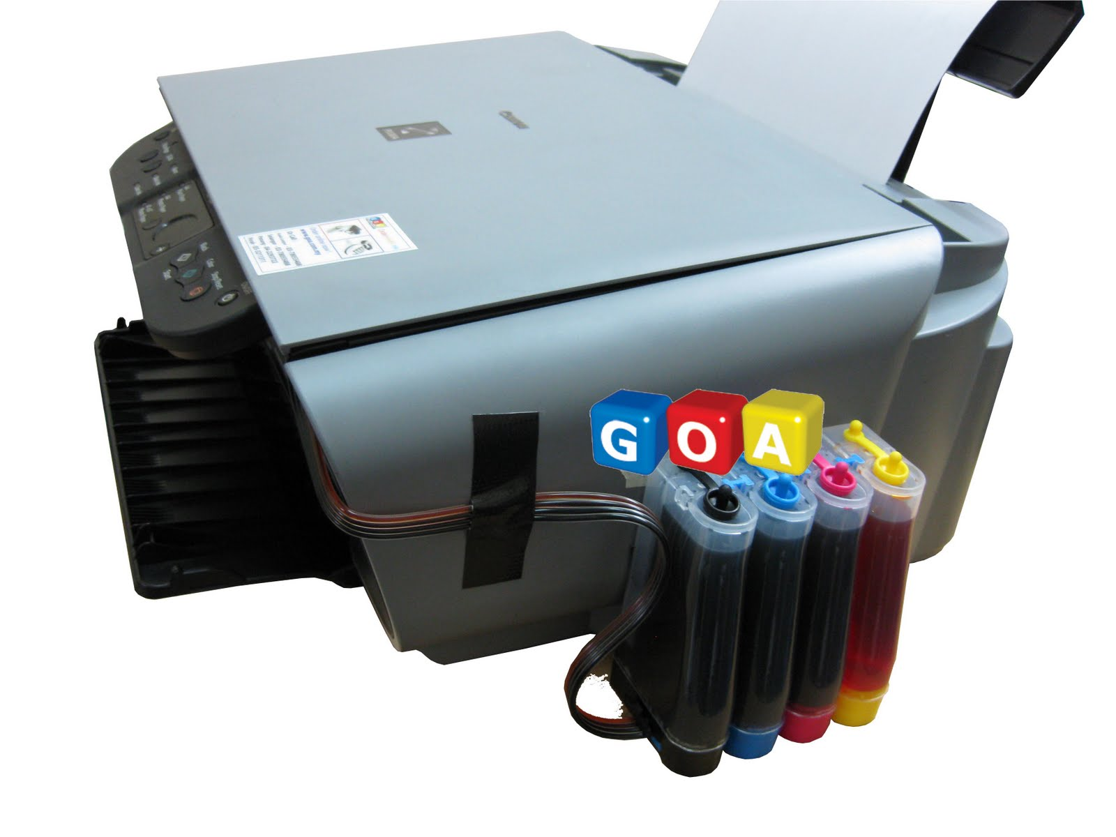 Canon Hp Continuos Ink Supply System Canon Mp160 Ciss