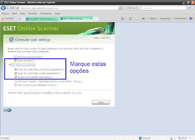 como-usar-eset-online-scan