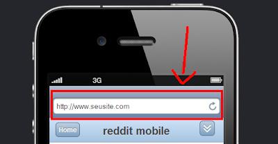 testar seu site em um iphone