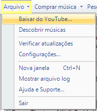 Baixar videos do youtube com songr