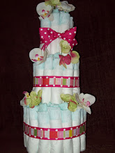 Three Tier Cake For A Girl