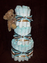 Three Tier Teddy Bear Cake