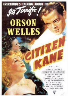 citizen kane, orson welles, movie, poster, william, randolph, hearst