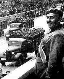 franco, spain, u.s., support, fascist, fascism