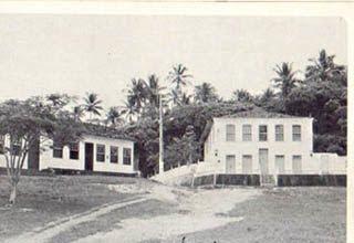A vila antiga de Morro de sao Paulo e O Casarão