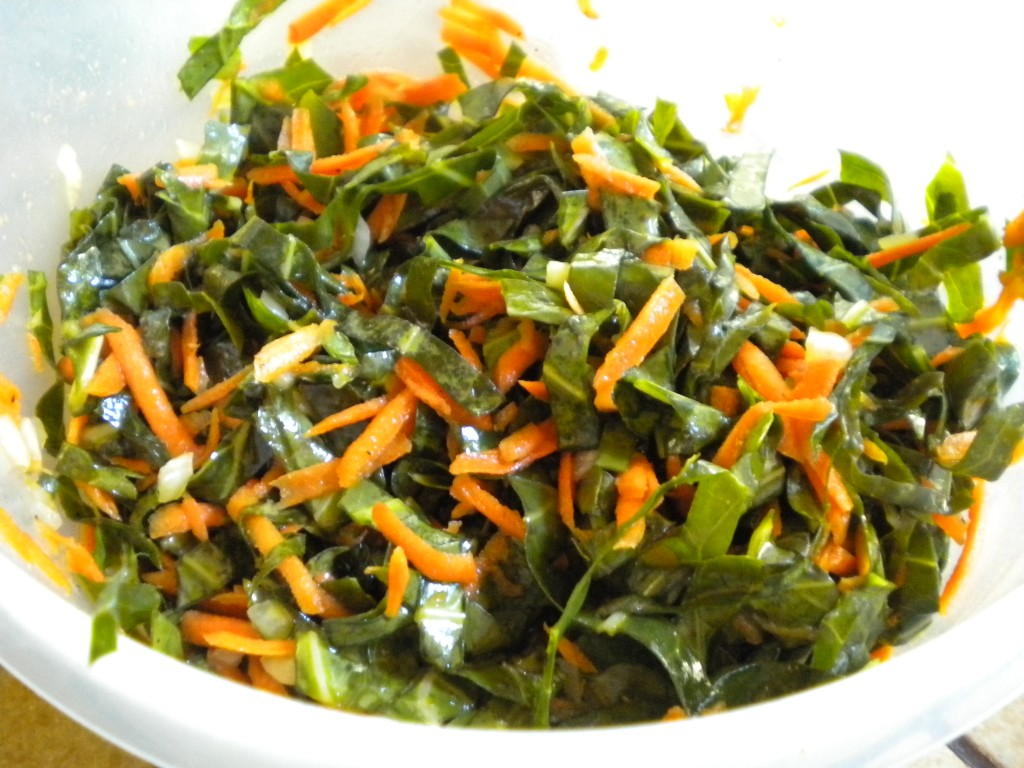 Mother Bliss Munchies: Collard Green Coleslaw