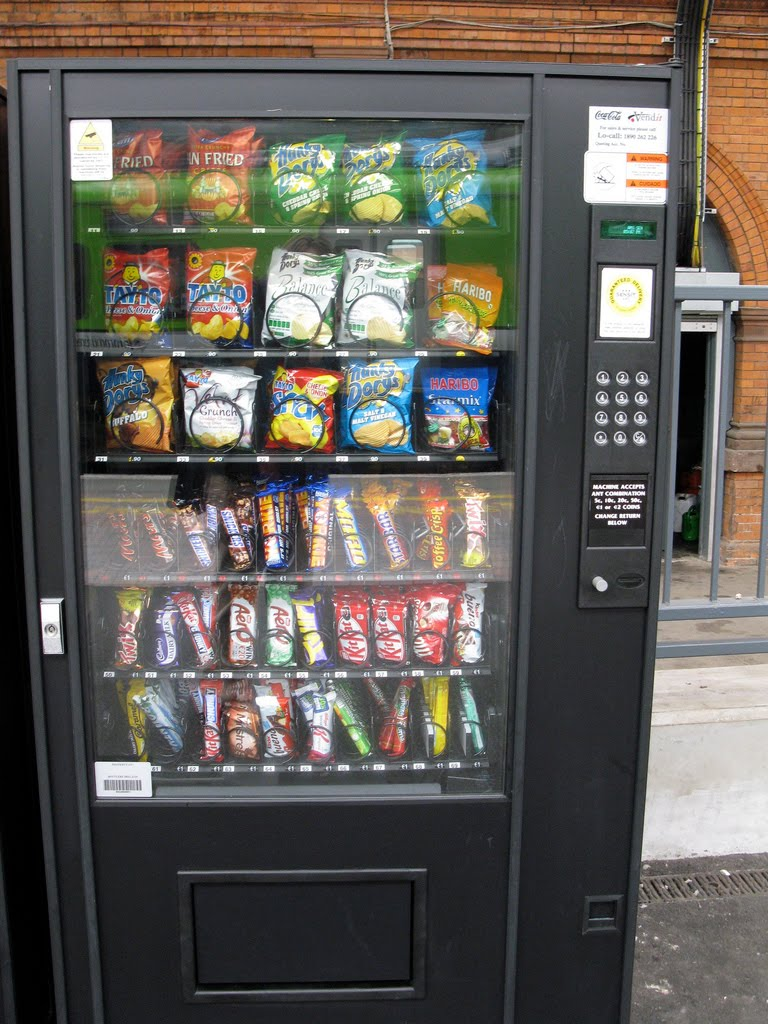 automatic chocolate vending machine avcm Automatic chocolate vending machine avcm using cosii rtos acvm specifications alphanumeric keypad and display alphanumeric keypad the top the machine automatic chocolate vending machine case study asawari dudwadkar dept videotapes for rent from automatic vending machine.