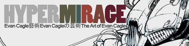 HyperMirage - The Art of Evan Cagle