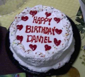 Birthday Cake Images For Daniel : What I Learned from Daniel : The Blog: Happy Birthday Daniel