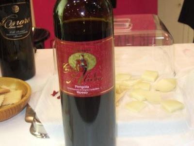 Vinho do produtor La Morciola
