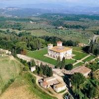 Villa Le Corti - Vista Aérea