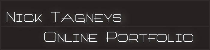 Nick Tagney Online Porfolio