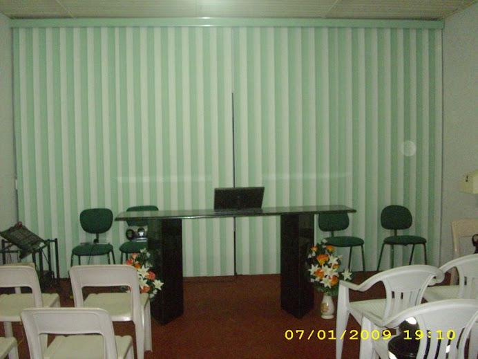 Parte Interna do Templo da 2ª Igreja