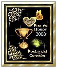 Premio Honor 2008