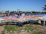 Abraço simbólico no Rio Paraíba do Sul