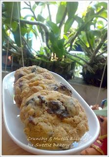 Crunchy & Muesli Biscuits