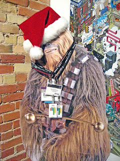 what do you get a wookie for christmas when he already owns a comb i dont know what is up with the first 15 seconds of this clip - What Do You Get A Wookie For Christmas