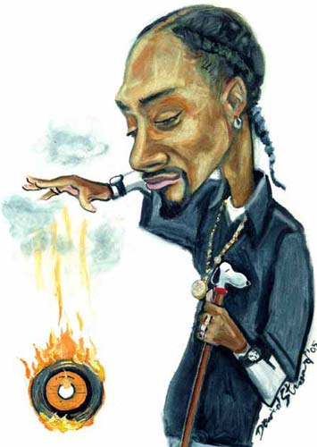 snoop dogg art