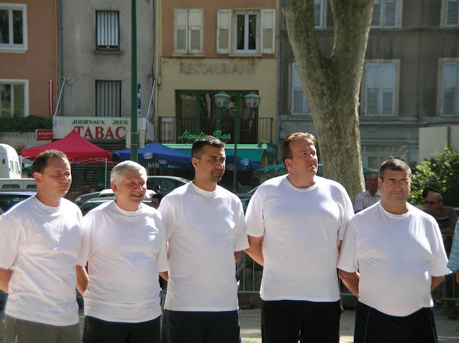 Vainqueurs du national de TOURNON