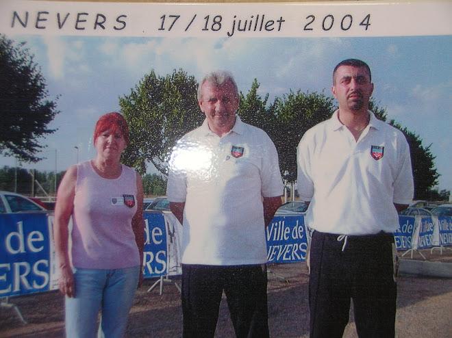 Championnat doublette pétanque 2004
