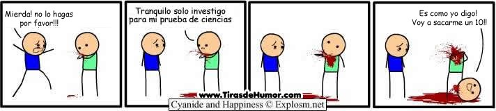 Cyanide and Happiness español