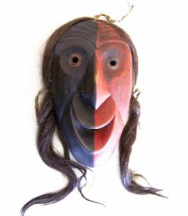 Native American Tribal Masks http://www.red-grey.co.uk/general/native-american-tribal-masks.html