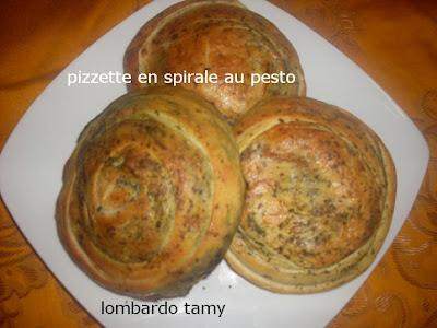 pain en spirale au pesto (invente) SDC10359