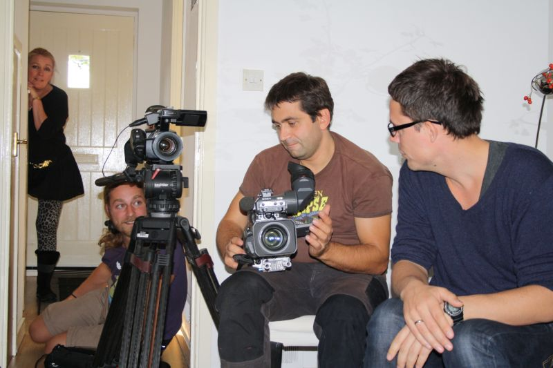 Oceanos Interview Film Crew from StoryHouse Productions