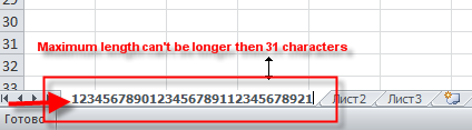 Andrey Tagaew: Maximum length of Excel worksheet name can't be more ...