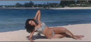 Mallika Sherawat wet bikini
