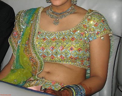 Indian girl in blouse