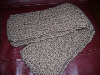 Easiest Farrow Rib Scarf