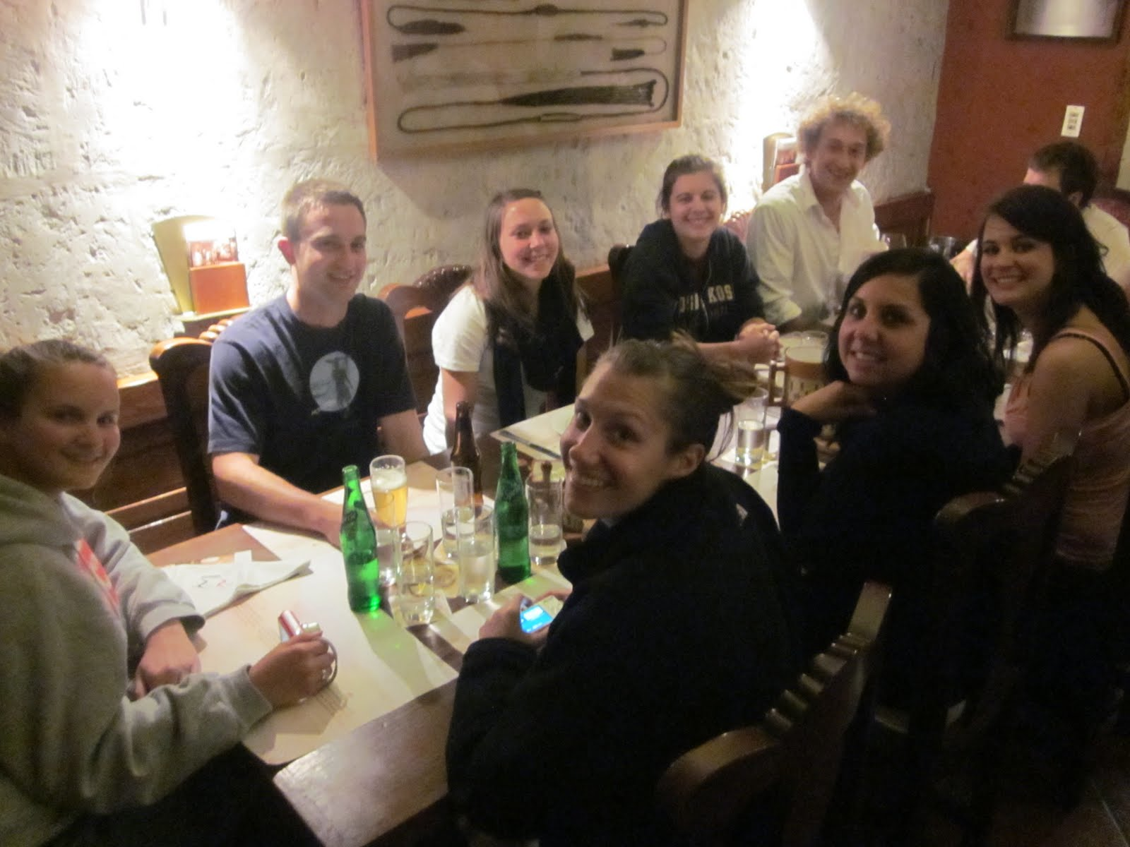 Students Dining in Arequipa