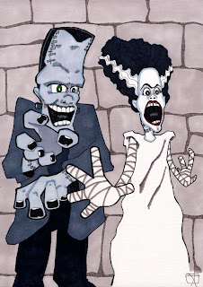 frankenstein, bride of frankenstein