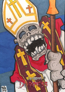 dreamers of darkness, zombie pope