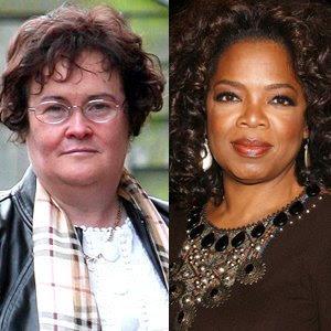 Susan Boyle Oprah Winfrey