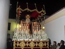 VIRGEN DE LOS DOLORES EN SU PASO